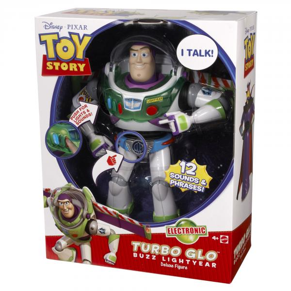 Toy Story Turbo Glo Buzz Lightyear