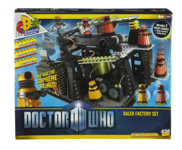 Doctor Who Dalek Factory set