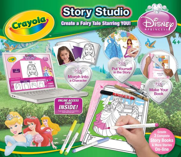 Crayola Story Studio - Disney Princess