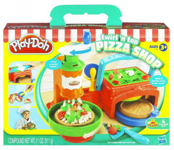 Play-Doh Twirl 'N Top Pizza Playset