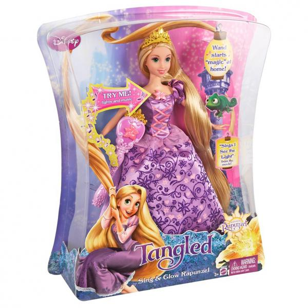 Disney Tangled Sing and Glow Rapunzel