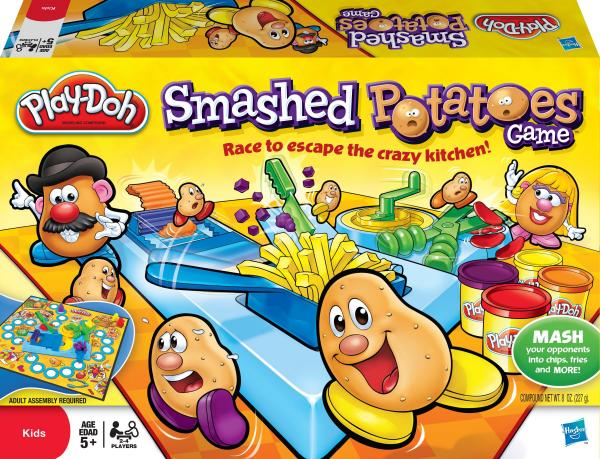 Play-Doh Smashed Potatoes