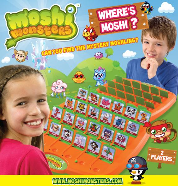 Where's Moshi? Game