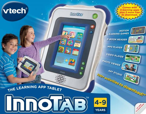 InnoTab: The Learning App Tablet