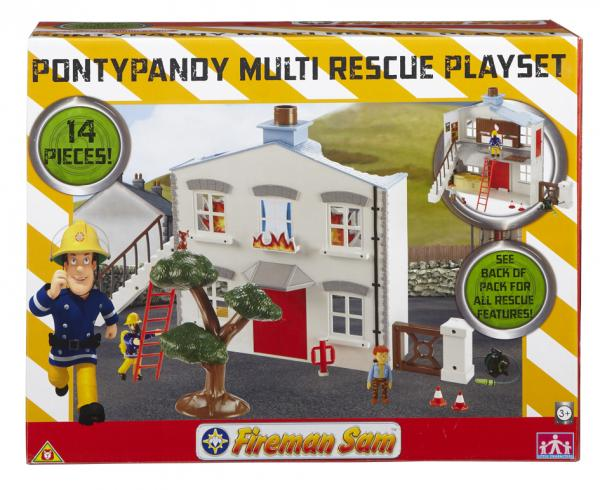 Fireman Sam - Pontypandy Multi Rescue Set
