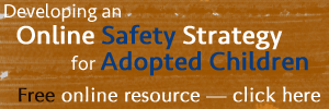 Developing an Online Safety Strategy for Adopted Children