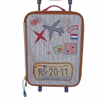 Room Seven Compass Wheeled Suitcase