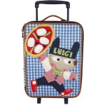 Room Seven Luigi Pizza Wheeled Suitcase