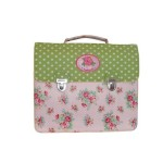 Room Seven Pink Rose School Bag and Badge