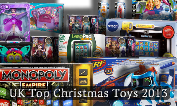 UK Top Christmas Toys 2013