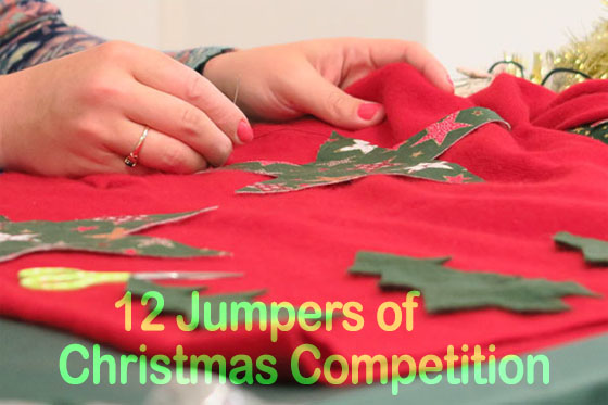 12 jumpers of Christmas competition