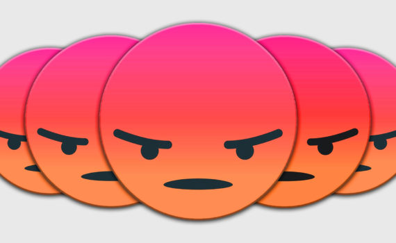 Angry Emoji Faces
