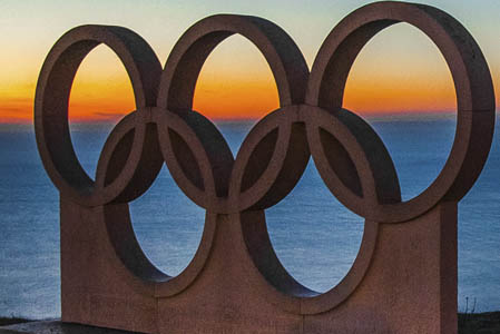 olympic rings monument